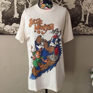 Vintage 90's Disney Splash Mountain Tee Shirt